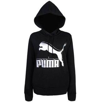 Moletom Puma Feminino Classics Logo Hoody