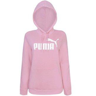 Moletom Puma Feminino Ess Logo Hoodle
