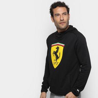 Moletom Puma Ferrari Scuderia Big Shield Sweat c/ Capuz Masculino
