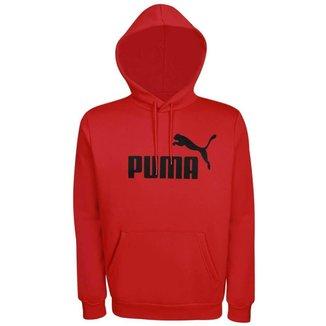 Moletom Puma Masculino Ess Hoody FL Big Logo