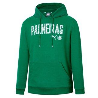 Moletom Puma Palmeiras Graphic Hoody Juvenil - Verde
