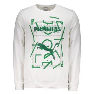 Moletom Puma Palmeiras Graphic Sweat Masculino