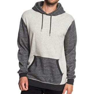 Moletom Quiksilver Fechado Global Grasp Hood Masculino