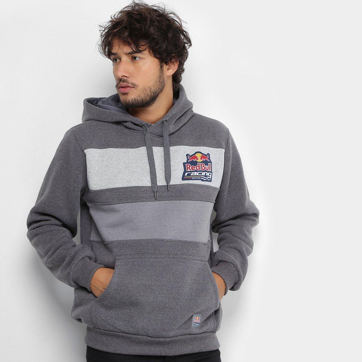 Moletom Red Bull Racing Faixas Masculino - Compre Agora  4faf5fb37e2