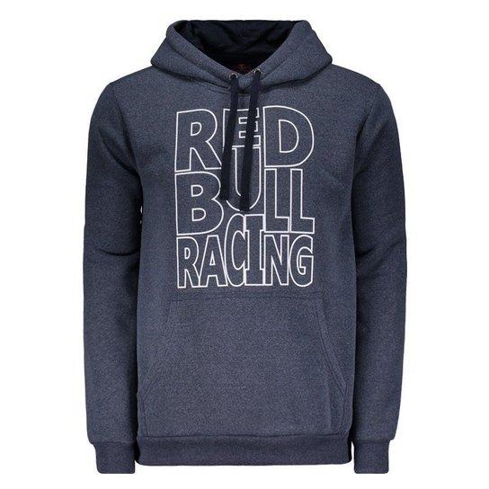 Moletom Red Bull Racing Marinho - Azul