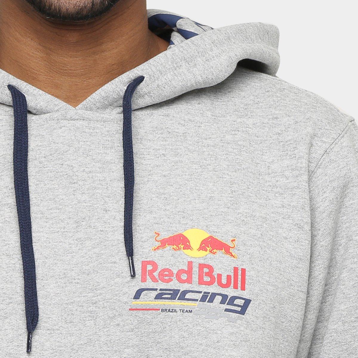 Moletom Red Bull Racing Stock Car Logo Pequeno Masculino - Compre ... cc4a057730a