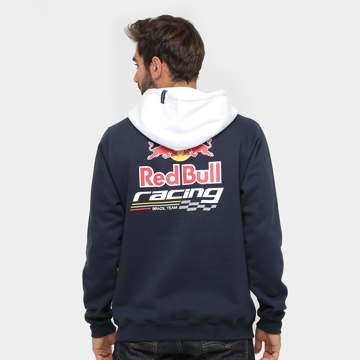 Moletom Red Bull Racing Stock Car Team Logo Masculino - Compre Agora ... e6f0cd3893f