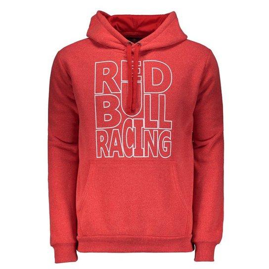 Moletom Red Bull Racing Vermelho - Vermelho