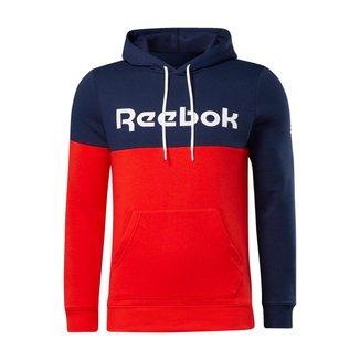 Moletom Reebok  Capuz Training Essentials Logo    Masculino