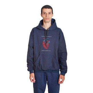 Moletom Sandro Clothing Heart Masculino