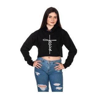 Moletom Selten Cropped Capuz Feminino