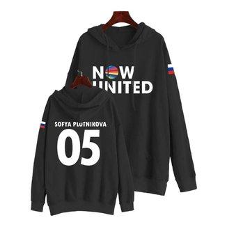 Moletom Sofya Plotnikova Now United 05 Bandeira Em Algodão Feminino
