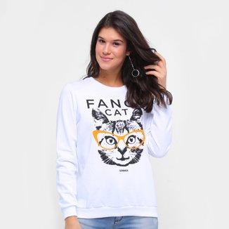 Moletom Sommer Fancy Cat Feminino