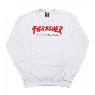 Moletom Thrasher Magazine Careca Godzilla