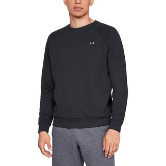 Moletom Treino Masculino Under Armour Rival Fleece Crew