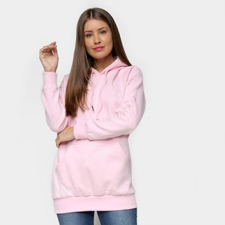 Moletom Tricats Unicolor And CO Oversized Feminino