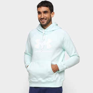Moletom Under Armour Rival Fleece Canguru Masculino