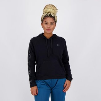 Moletom Under Armour Rival Fleece Feminina Preto