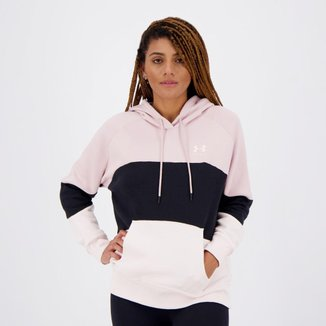 Moletom Under Armour Rival Fleece Feminino Rosa