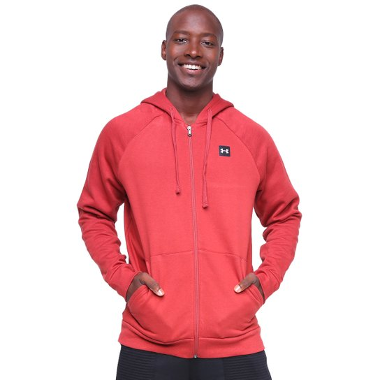 Moletom Under Armour Rival Fleece Masculino - Terracota