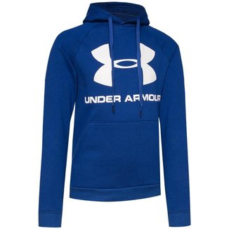 Moletom Under Armour Rival Fleece Sportstyle Logo Hoodie Masculino