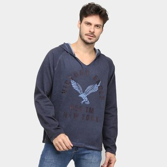 Moletom Victory Eagle New York Capuz Masculino