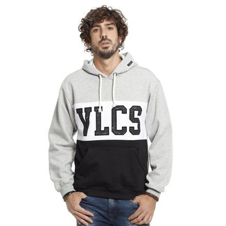 Moletom VLCS Capuz Fechado Masculino