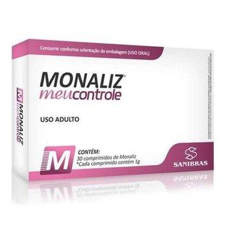Monaliz Meu Controle 30 comprimidos - Sanibrás