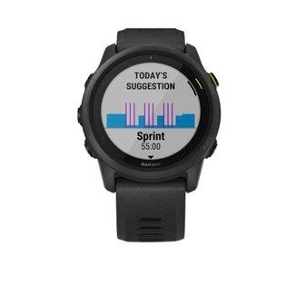 Monitor Cardíaco Com GPS Garmin Forerunner 745 - Unissex - Preto Único