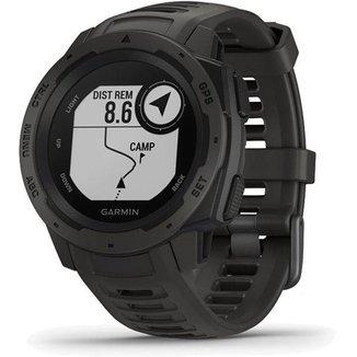 Monitor Cardíaco de Pulso com GPS Garmin Instinct