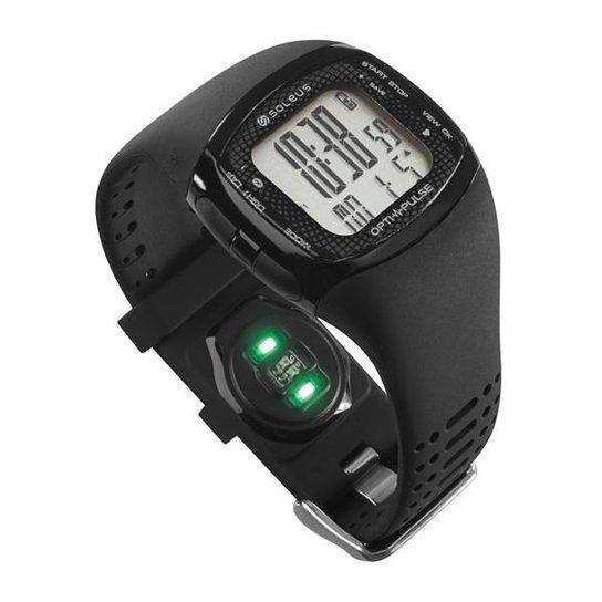 Monitor Cardíaco SOLEUS Pulse Rhythm BLE + HRM - Preto
