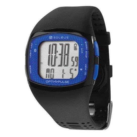 Monitor Cardíaco SOLEUS Pulse Rhythm BLE + HRM - Preto+Azul