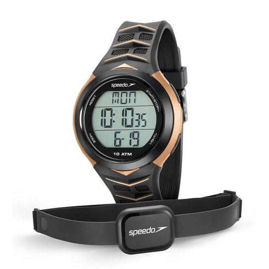 Monitor Cardíaco Speedo 80621G0EVNP - Preto+Dourado