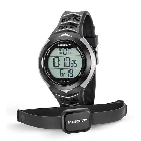 Monitor Cardíaco Speedo 80621G0EVNP - Preto+Cinza