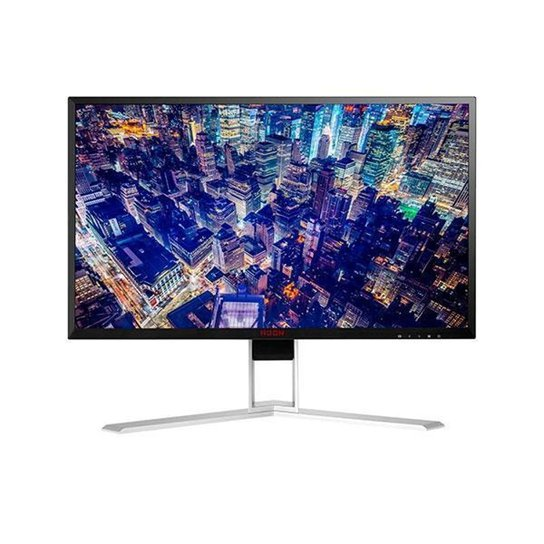 """Monitor Gamer AOC Agon 27"""" LED 4ms 165Hz QHD G-Sync HDMI/DP, AG271QG - Preto+Prata"""