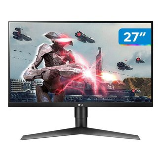 "Monitor Gamer LG 27GL650F-B.AWZ 27"" LED IPS - Widescreen Full HD HDMI 144Hz 1ms"