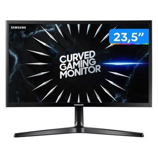 "Monitor Gamer Samsung LC24RG50FQLMZD 23,5"" LED - Curvo Widescreen Full HD HDMI 144Hz 4ms"