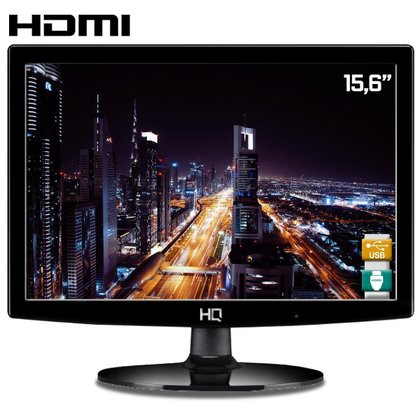 """Monitor LED 15,6"""" HQ 16HQ-LED HDMI"""
