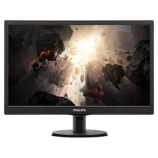Monitor para PC Philips V Line 193V5LHSB2 - Preto
