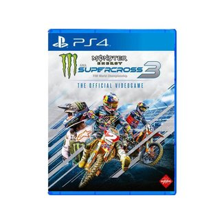Monster Energy SuperCross 3 para PS4 Milestone