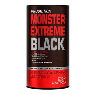 Monster Extreme Black - 22 Packs - Probíotica