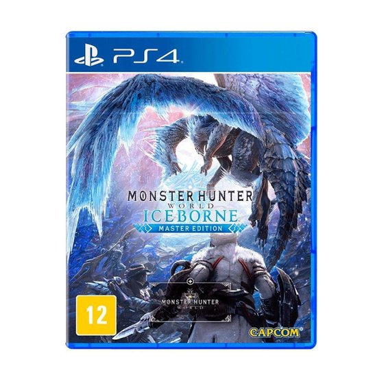 Monster Hunter Iceborne Ps4 - Incolor