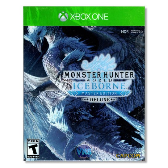 Monster Hunter World Iceborne - Master Edition Deluxe - Xbox One - Incolor
