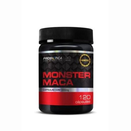 Monster Maca Peruana - 120 caps - Probiótica