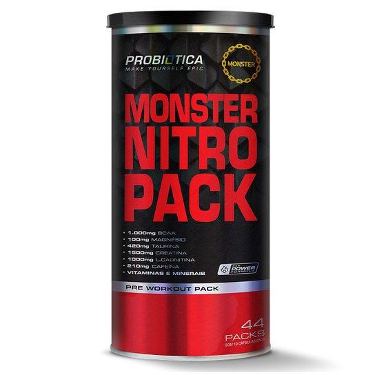 Monster Nitro Pack 44 Packs - Probiótica -