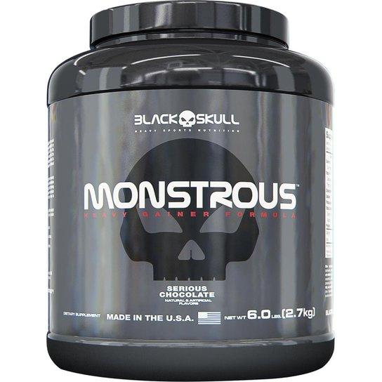 Monstrous 2.721 kg - Black Skull -