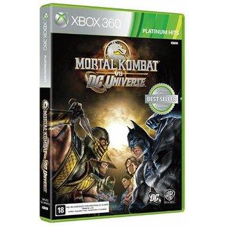 MORTAL KOMBAT VS DC COMICS XBOX 360