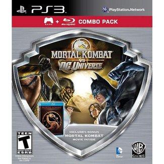 Mortal Kombat Vs Dc Universe Silver - Ps3