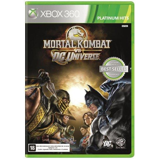 Mortal Kombat Vs Dc Universe - Xbox-360 - Incolor