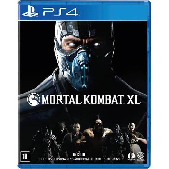 Mortal Kombat XL - PS4 - Incolor